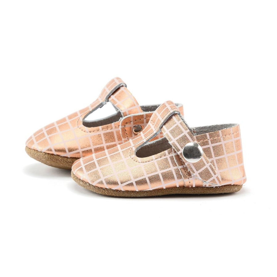 Penny T-Strap Mary Janes (Soft Sole) by Piper Finn