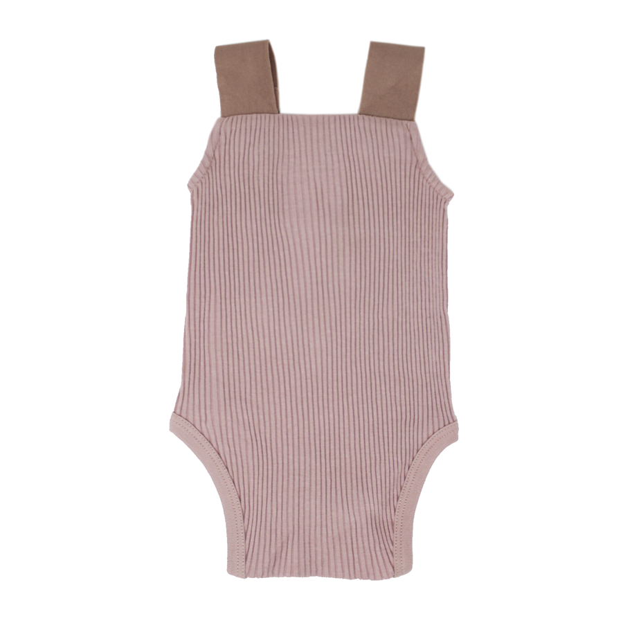 Thistle Ribbed Bodysuit by L'ovedbaby