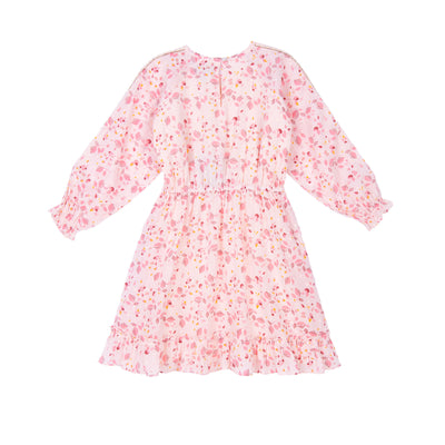 Immi Floral Lurex Dress by Velveteen