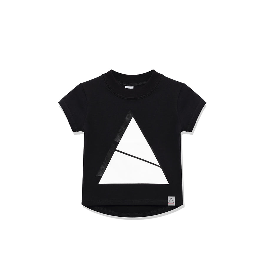 Triangle Black T-Shirt by Nasha