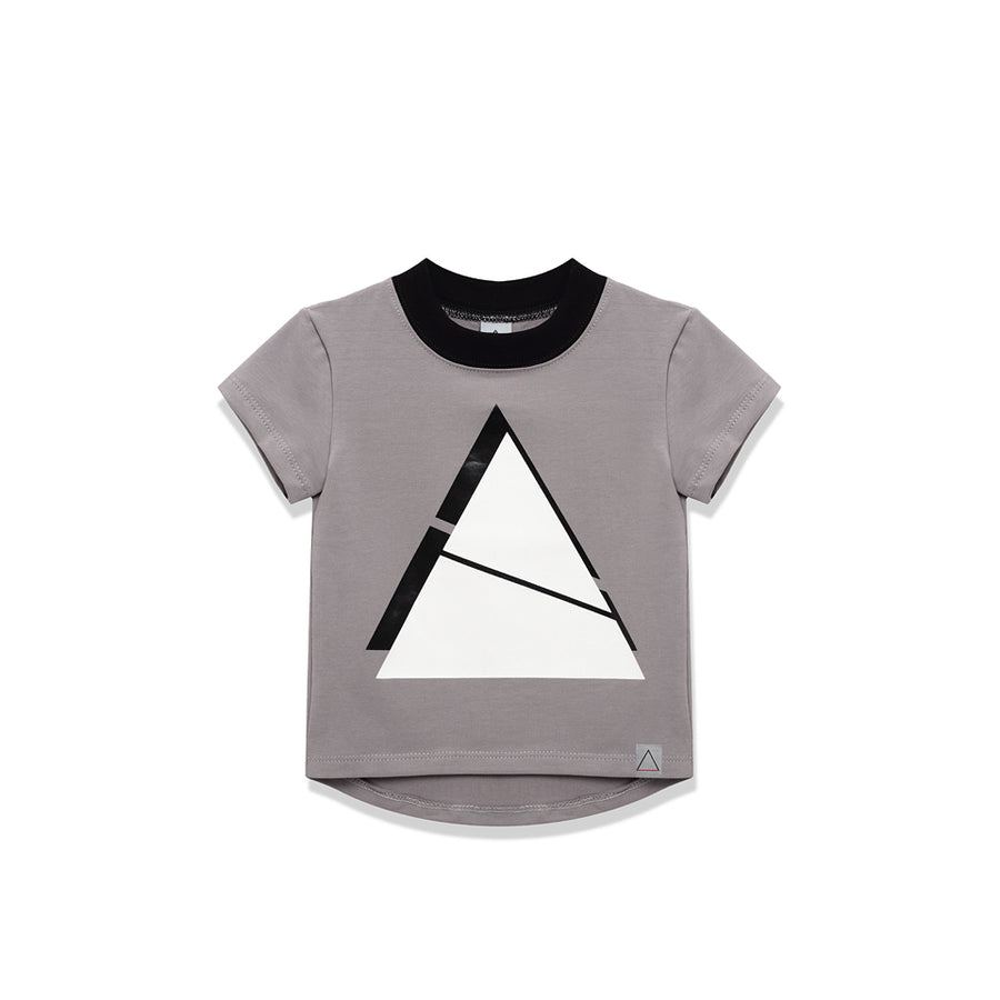Triangle Grey T-Shirt by Nasha