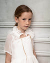 White Copelia Dress by Cosmosophie