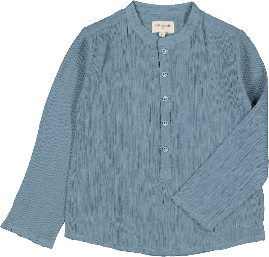 Grand Pere Blue Shirt by Louis Louise