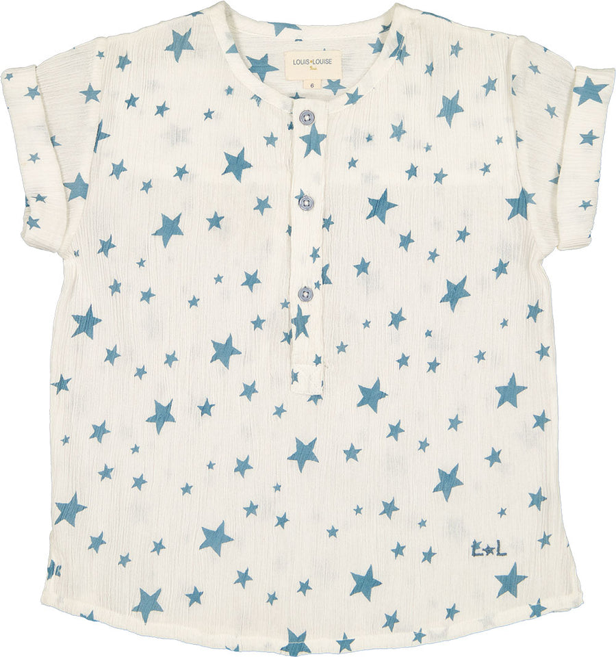 Crepe Stars Solal Shirt by Louis Louise