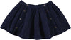 Ecoliere Long Navy Lurex Skirt by Louis Louise - Flying Colors Baby