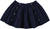 Ecoliere Long Navy Lurex Skirt by Louis Louise