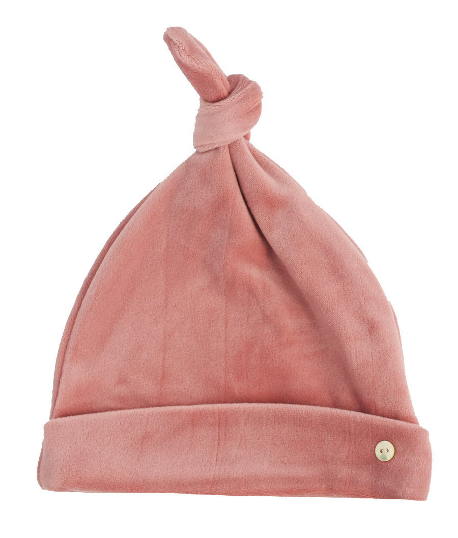 Pink Velour Hat by Kipp
