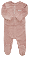 Pink Terry Romper by Kipp