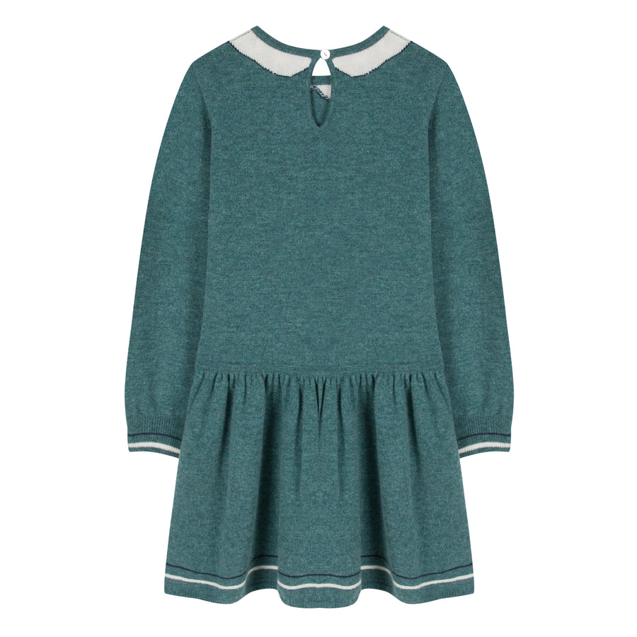 Preppy Knit Dress by Tartine et Chocolat