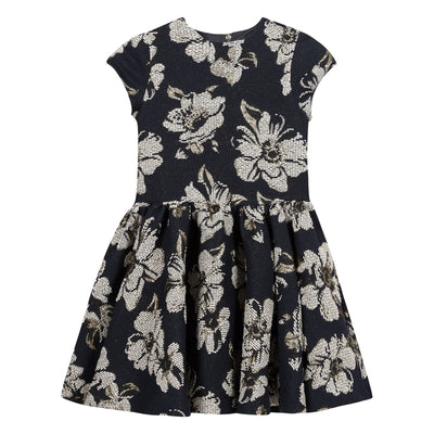 Floral Jacquard Dress by Tartine et Chocolat