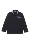 Trim Pocket Polo Shirt by Trussardi