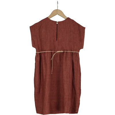 Bizet Linen Dress by Belle Chiara