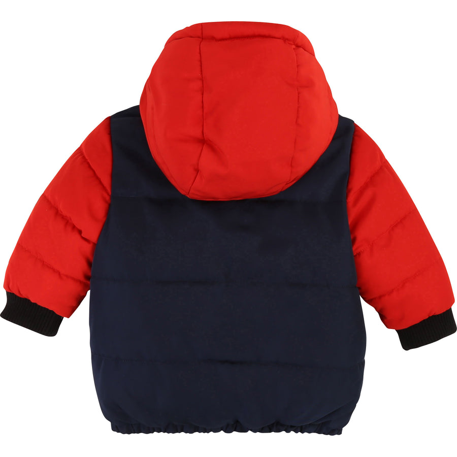 Hooded Reversible Puffer Jacket by Little Marc Jacob