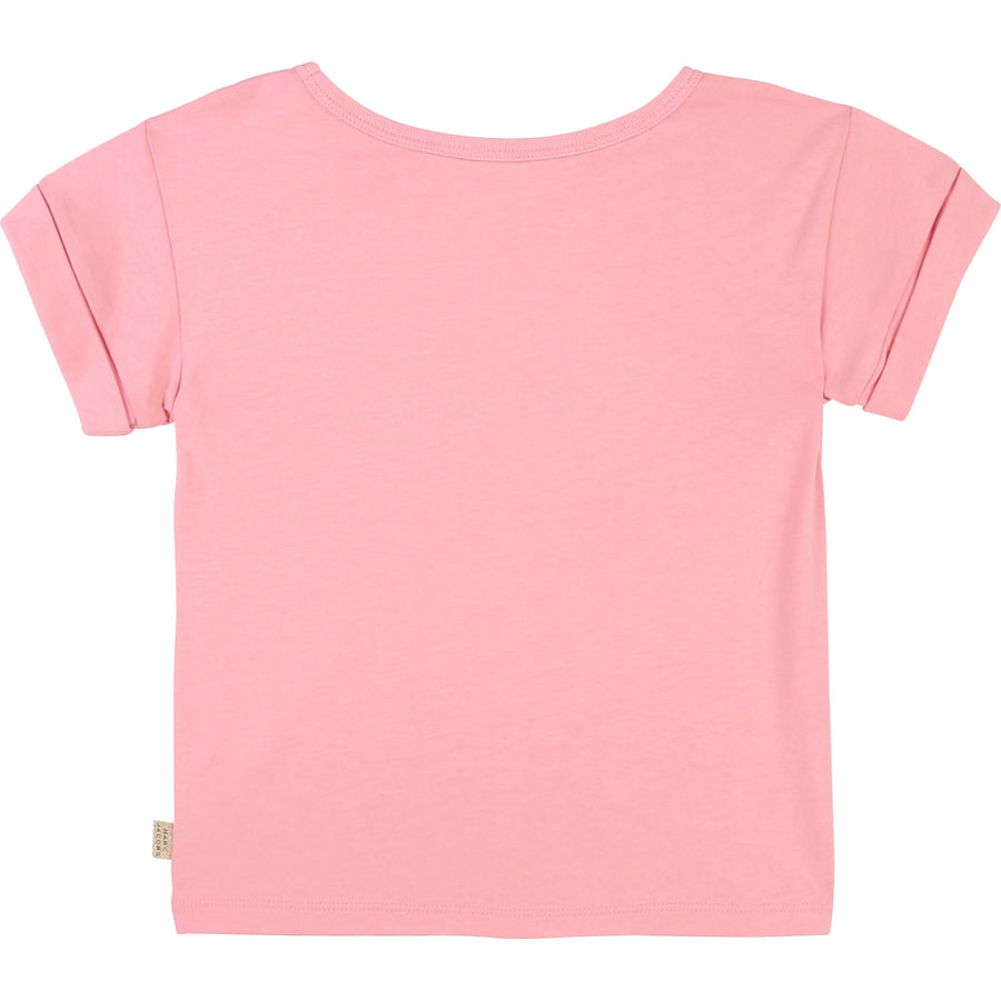 Girls Sequins and Illustration Tee by Little Marc Jacob