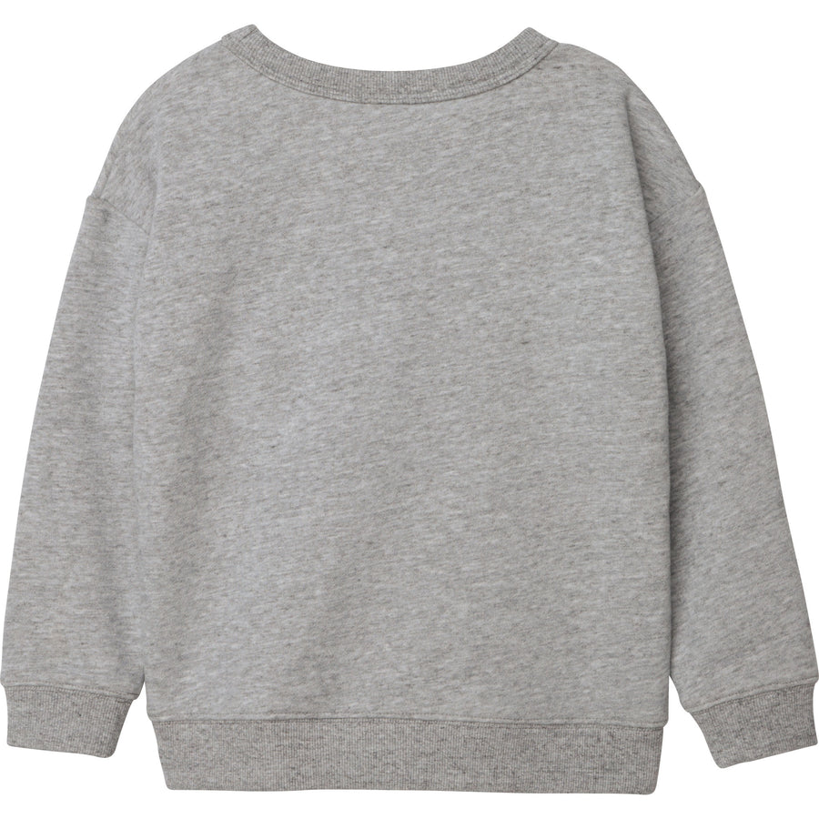 Large Logo Sweatshirt by Little Marc Jacob