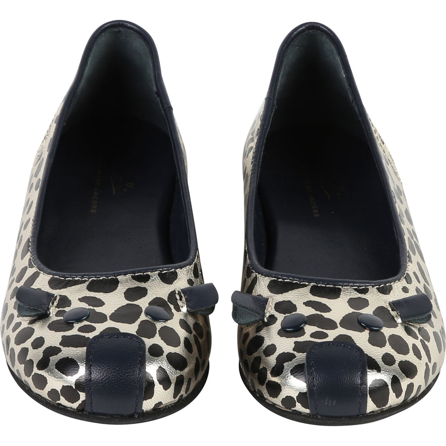 Cheetah Print Ballerinas by Little Marc Jacob - Flying Colors Baby
