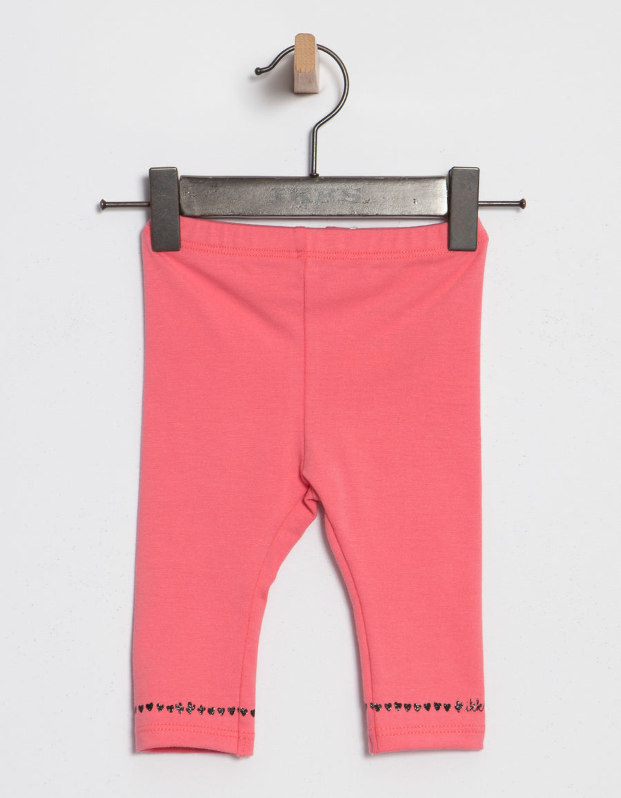 Pink Detail Leggings By Ikks