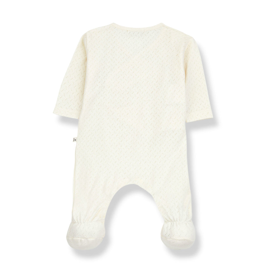 Ecru Jumpsuit by 1+ In The Family