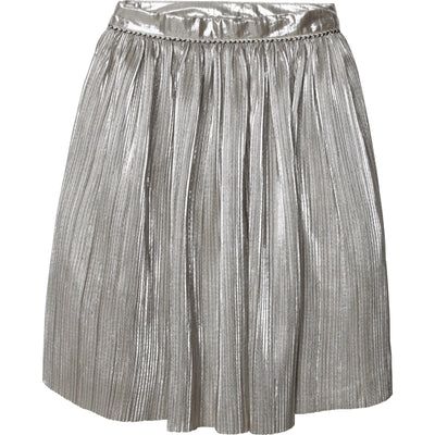 Pleated Midi Skirt by Carrement Beau