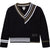 Jacquard Stripes Sweater By Karl Lagerfeld