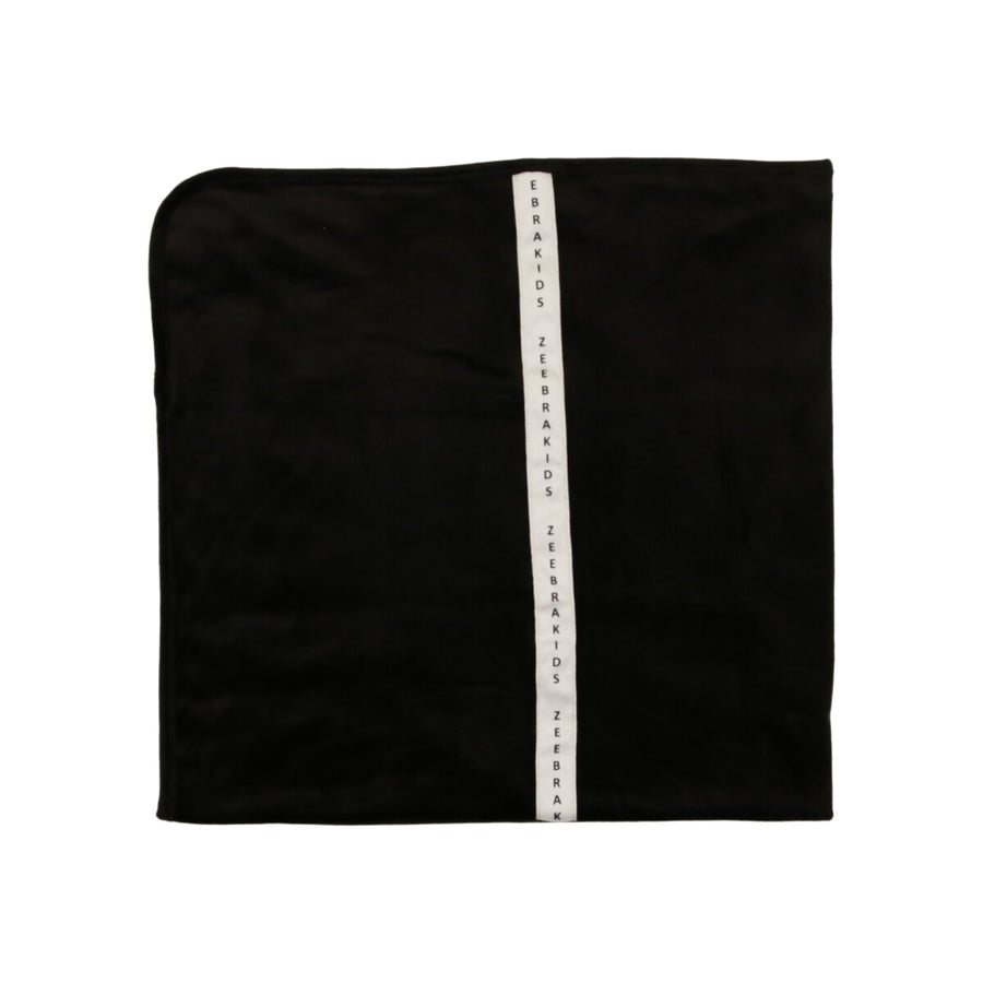 Blackest Black Signature Velvet Blanket by Zeebra