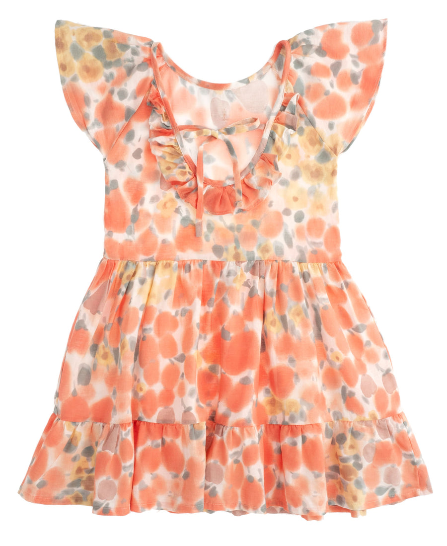 Flower Print Dress by Tocoto Vintage