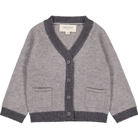 Bicolor Hubert Cardigan by Louis Louise