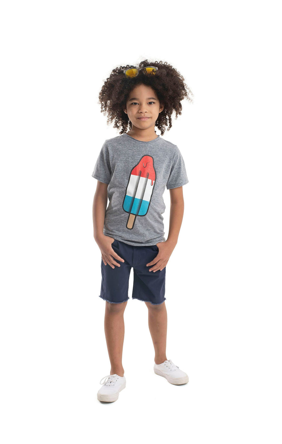 Red White and Blue Graphic Tee by Appaman