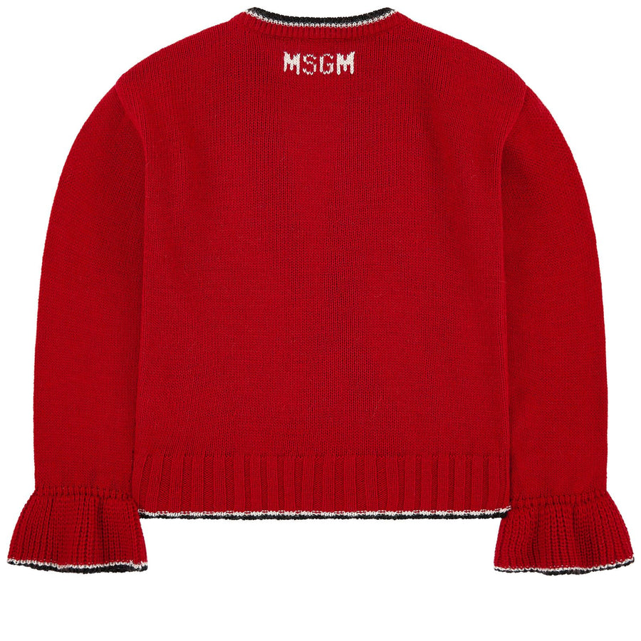 Red Sweater by MSGM