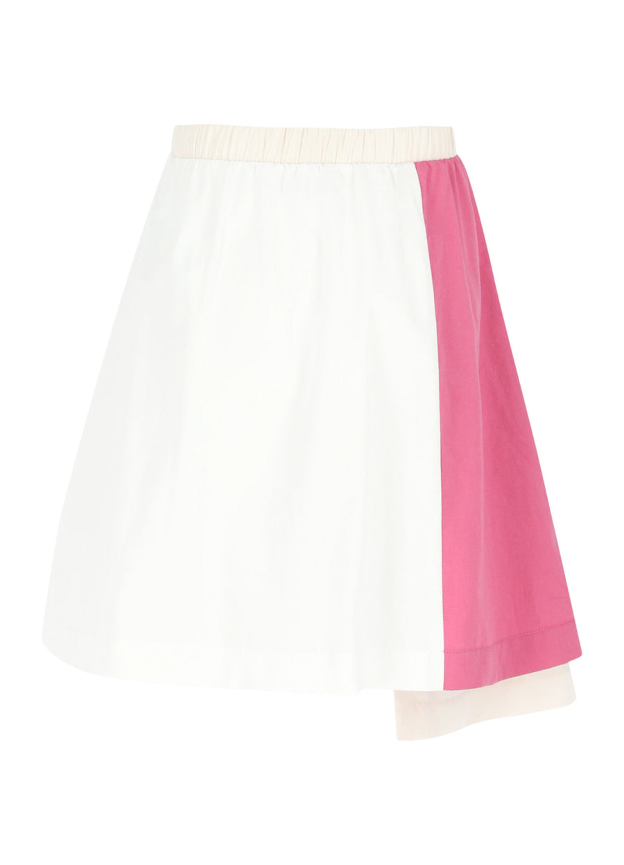 Color Block Chateau Rose Skirt by LMN3