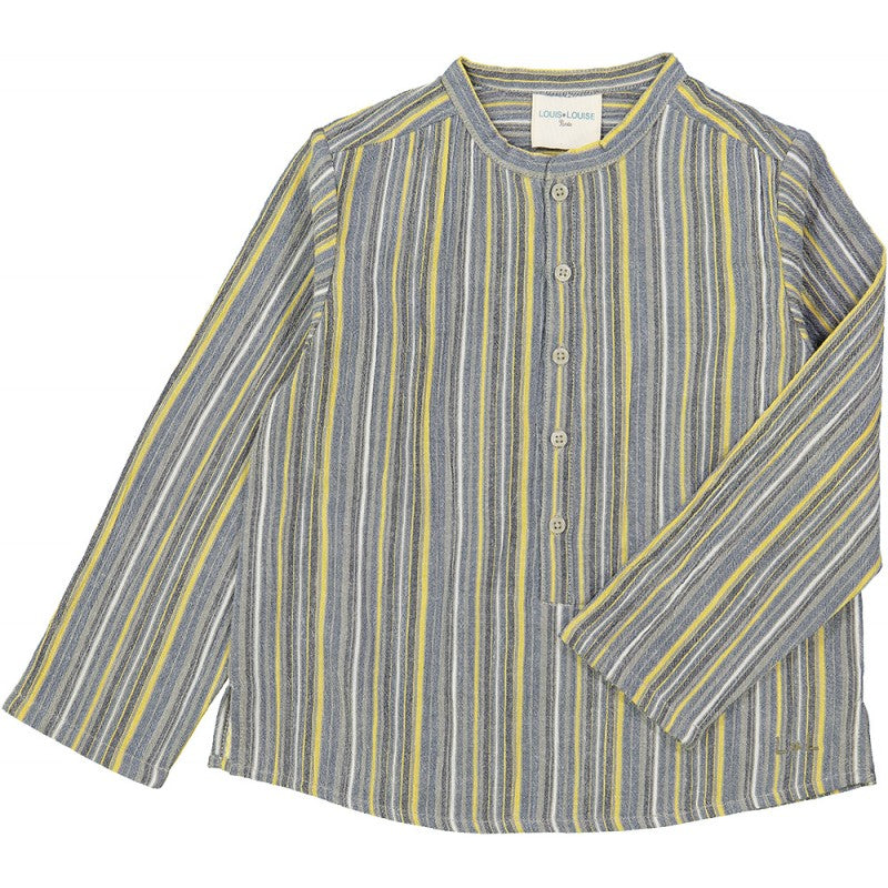 Stripes Bayadere Grand Pere Shirt by Louis Louise