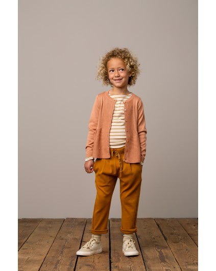 Pumpkin Pie Stripe Long Sleeve T-Shirt by MarMar