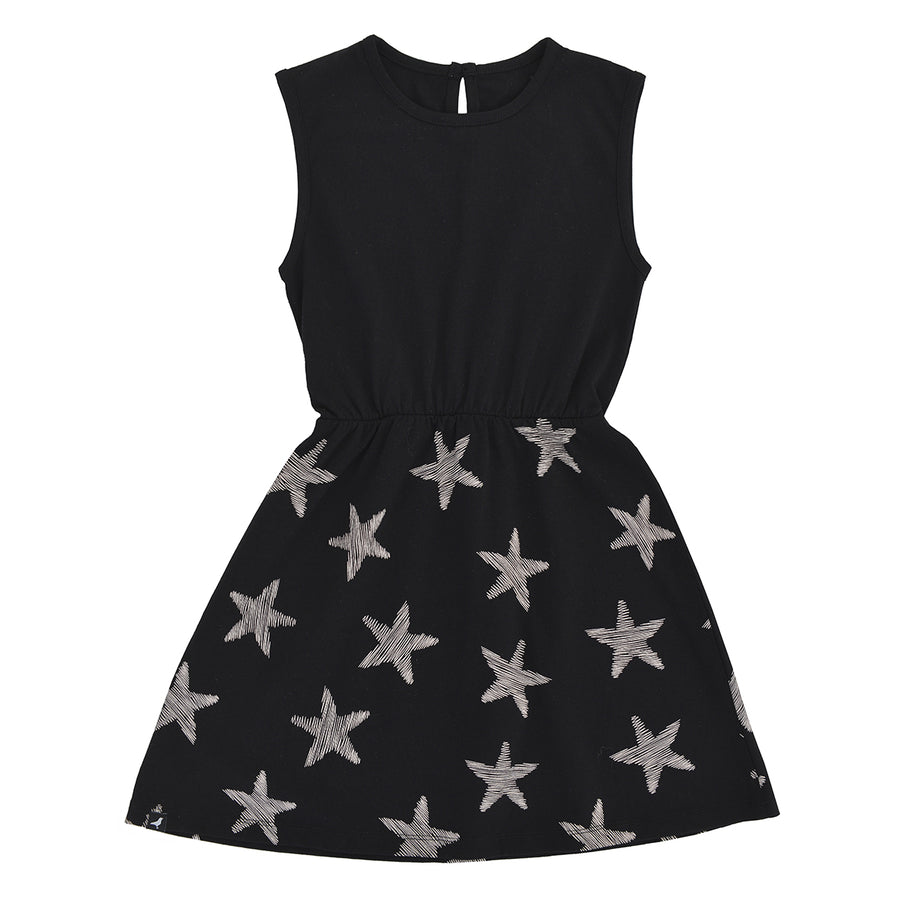 Black Starfish Dress by Moi