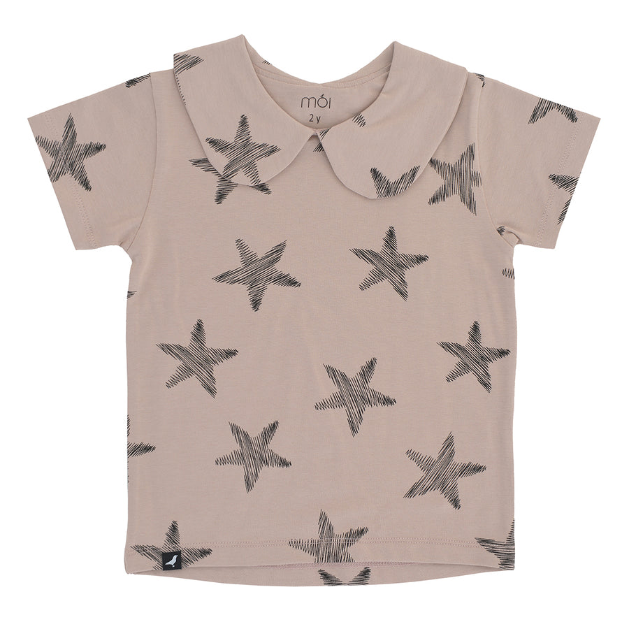 Blush Starfish T-Shirt by Moi