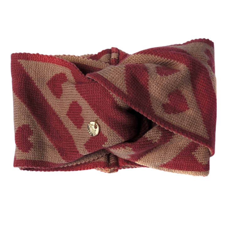 Mon Amour Rosewood Headwrap by Halo Luxe