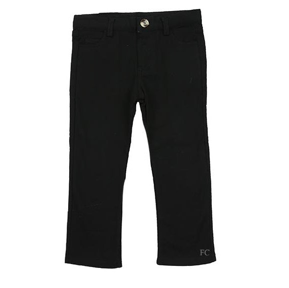 Black Slim Knit Pants by Crew