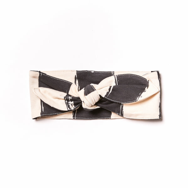 Black Stripes Headband by Noe & Zoe