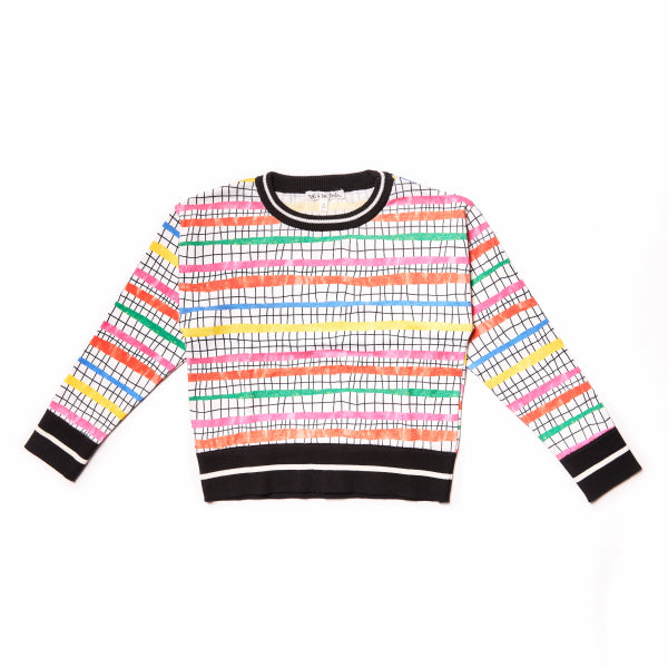 Pool Olympic Steps Sweater by Noe & Zoe