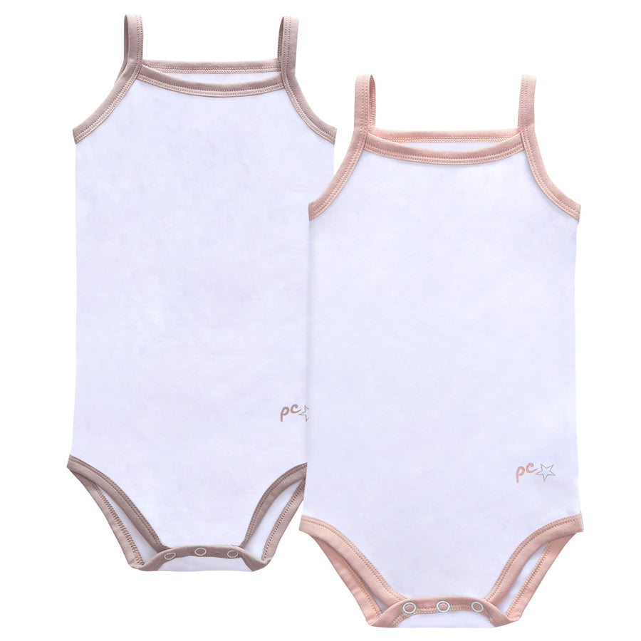 Baby Basic Spaghetti Strap Bodysuit by Petit Clair