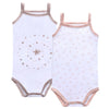 Baby Stars Spaghetti Strap Bodysuit by Petit Clair