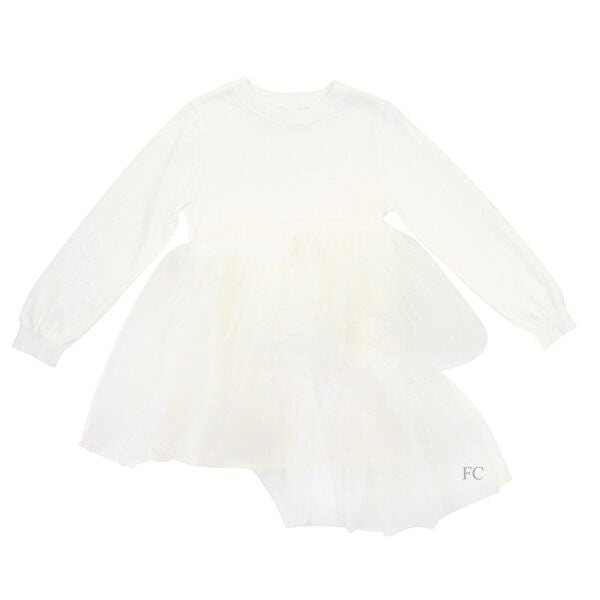 Tulle Bottom Dress by JNBY