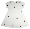 White Studded Dress By Kipp