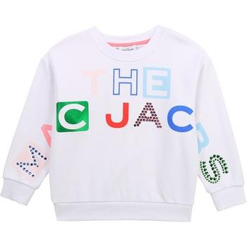 Foil Print Multi Logo Pullover by Little Marc Jacobs