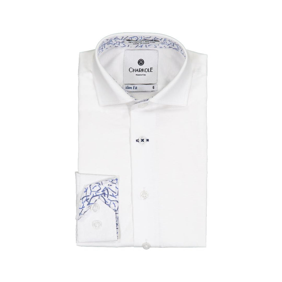 Lines Slim Fit Shirt by Charkole