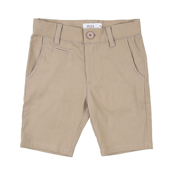 Taupe Shorts by MOTU