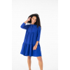 Blue Tiered Dress by TLB