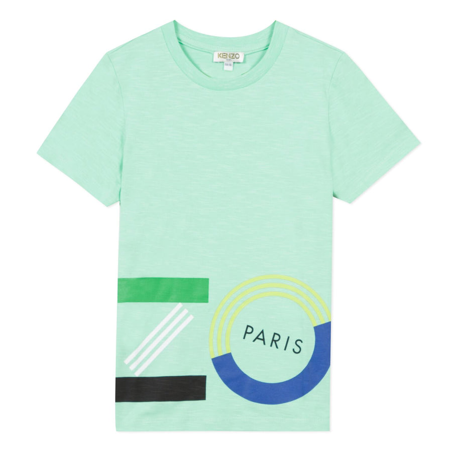 Justin Menthol Tee Shirt by Kenzo