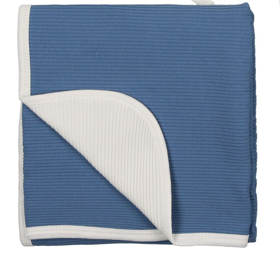 Blue Horizon Runway Blanket by Mon Tresor