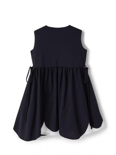 Navy Sleeveless Dress by IL Gufo