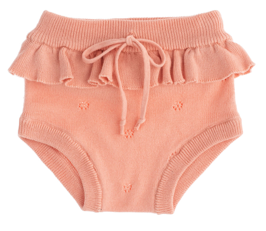 Pink Knit Bloomer by Tocoto Vintage